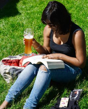 Vrouwen en bier bierdegustatie