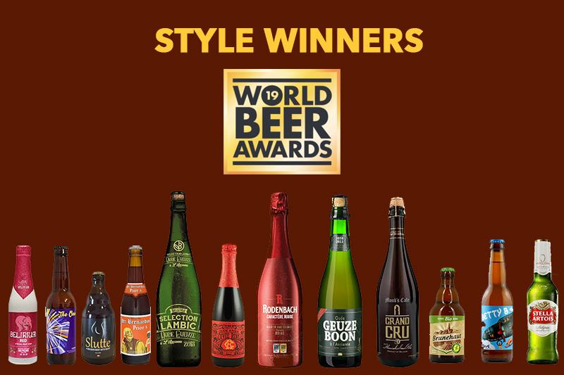 Style Winners - World Beer Awards 2019 - België