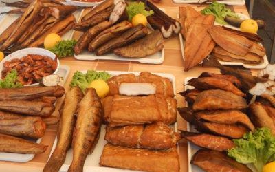 Gerookte vis met Special Belge