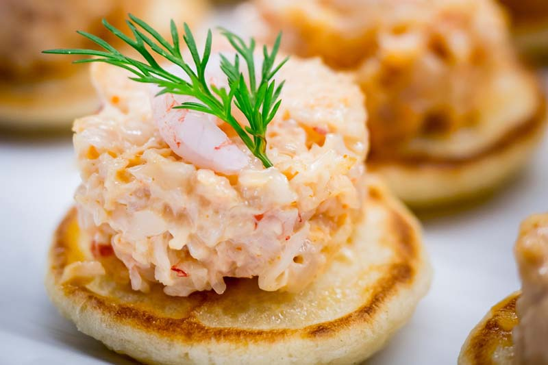 Featured image - blinis met krab
