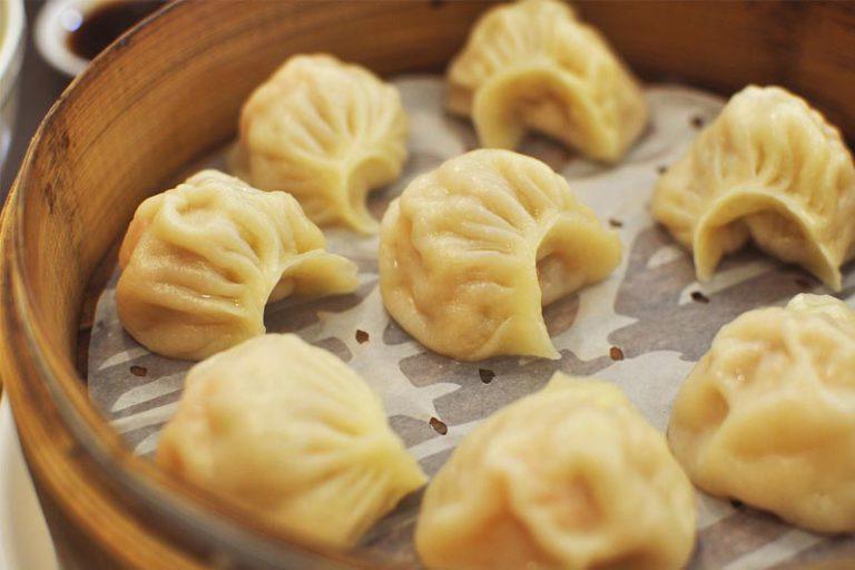 Featured image -Dumplings met gehakt en blonde Tripel